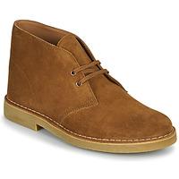 Schoenen Heren Laarzen Clarks DESERT BOOT 2 Brown