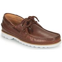 Schoenen Heren Bootschoenen Clarks DURLEIGH SAIL Brown