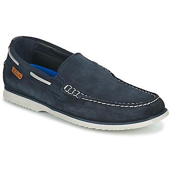 Schoenen Heren Bootschoenen Clarks NOONAN STEP Blauw