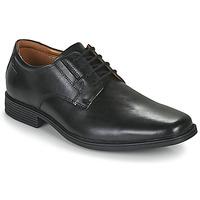Schoenen Heren Derby Clarks TILDEN PLAIN Zwart