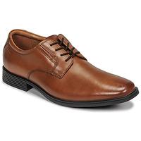 Schoenen Heren Derby Clarks TILDEN PLAIN Brown