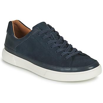 Schoenen Heren Lage sneakers Clarks UN COSTA TIE Blauw