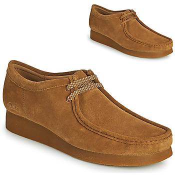 Schoenen Heren Derby Clarks WALLABEE 2 Brown