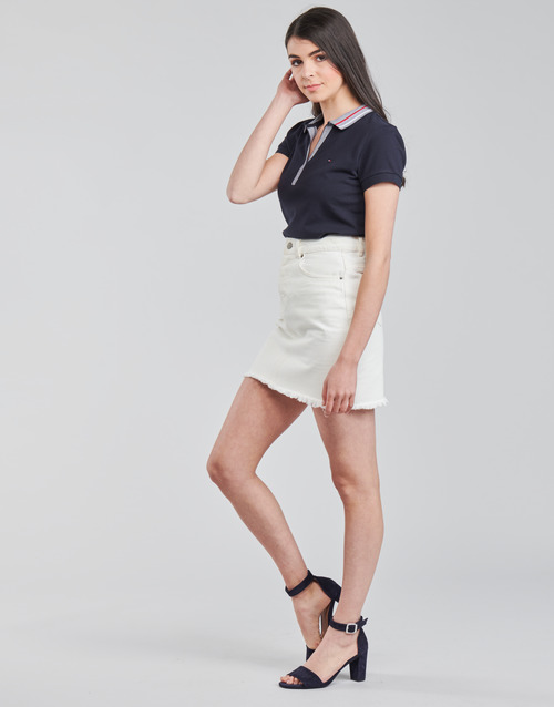 Tommy Hilfiger SLIM TIPPING POLO SS
