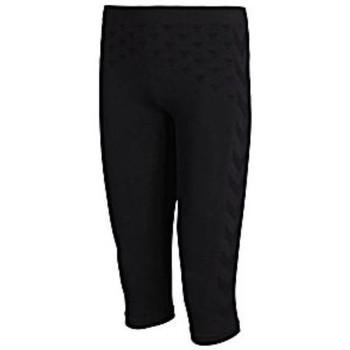 Textiel Dames Trainingspakken Hummel Collant 3/4 femme  Active Bee noir