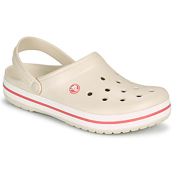 Schoenen Dames Klompen Crocs CROCBAND Beige / Corail