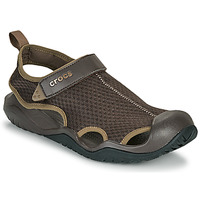 Schoenen Heren Sandalen / Open schoenen Crocs SWIFTWATER MESH DECK SANDAL M Brown
