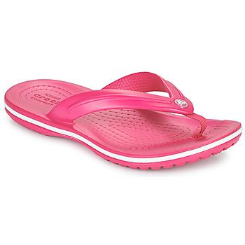 Schoenen Kinderen Slippers Crocs CROCBAND FLIP GS Roze