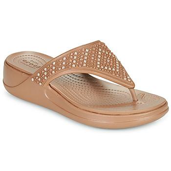Schoenen Dames Slippers Crocs CROCS MONTEREY SHIMMER WGFPW Brons