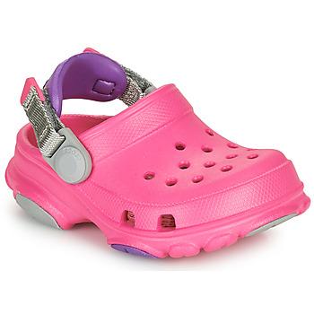 Schoenen Meisjes Klompen Crocs CLASSIC ALL-TERRAIN CLOG K Roze