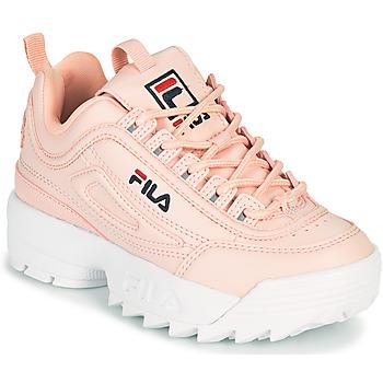 Schoenen Meisjes Lage sneakers Fila DISRUPTOR KIDS Roze