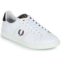 Schoenen Heren Lage sneakers Fred Perry B721 Wit