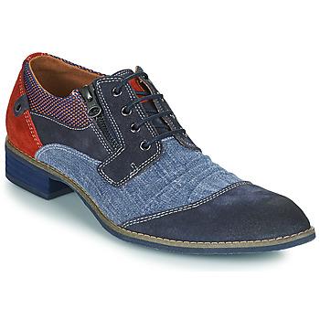 Schoenen Heren Derby Kdopa MONTMARTRE Blauw / Rood