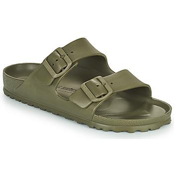 Schoenen Dames Leren slippers Birkenstock ARIZONA EVA Kaki