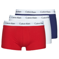 Ondergoed Heren Boxershorts Calvin Klein Jeans RISE TRUNK X3 Marine / Wit / Rood