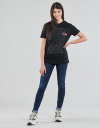 Textiel Dames Skinny Jeans Replay NEW LUZ Blauw / Donker