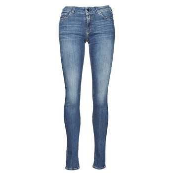Textiel Dames Skinny Jeans Replay NEW LUZ Blauw / Moyen