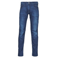 Textiel Heren Skinny jeans Replay ANBASS Pants Blauw / Moyen