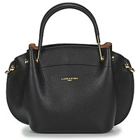Tassen Dames Handtassen kort hengsel LANCASTER FOULONNE DOUBLE 18 Zwart