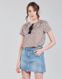 Textiel Dames Tops / Blousjes Deeluxe MERRY Multicolour