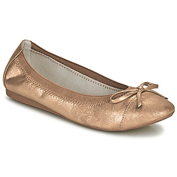 Schoenen Dames Ballerina's Moony Mood ELALA Brons