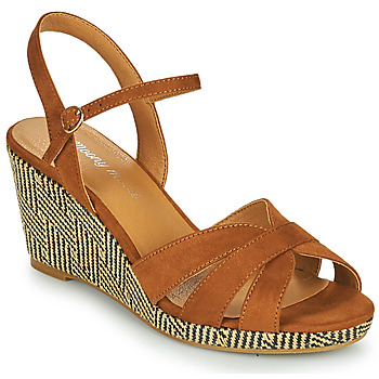 Schoenen Dames Sandalen / Open schoenen Moony Mood MALIA  camel