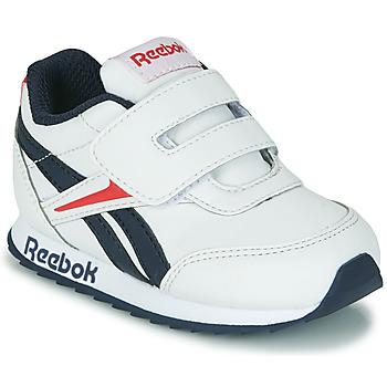 Schoenen Kinderen Lage sneakers Reebok Classic REEBOK ROYAL CLJOG 2 KC Wit / Marine / Rood