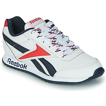 Schoenen Kinderen Lage sneakers Reebok Classic REEBOK ROYAL CLJOG 2 Wit / Marine / Rood