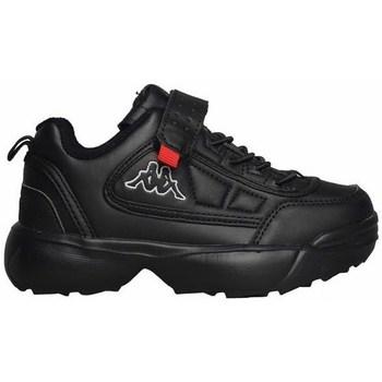 Schoenen Kinderen Lage sneakers Kappa Rave NC K Noir