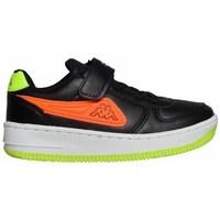 Schoenen Kinderen Lage sneakers Kappa Bash PC K Noir, Vert, Orange