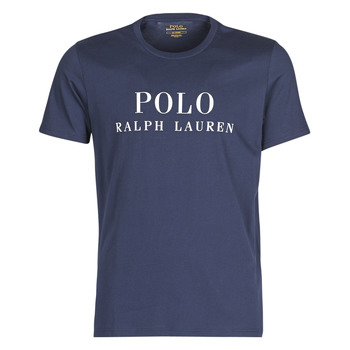 Textiel Heren T-shirts korte mouwen Polo Ralph Lauren SS CREW Marine