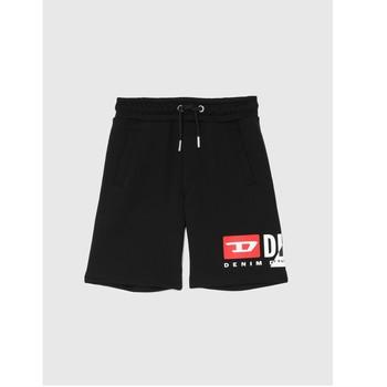 Textiel Jongens Korte broeken / Bermuda's Diesel PSHORTCUTY Zwart