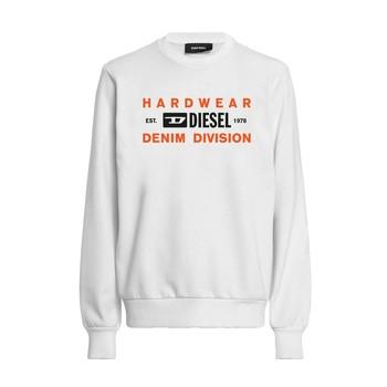 Textiel Jongens Sweaters / Sweatshirts Diesel SGIRKK10 Wit