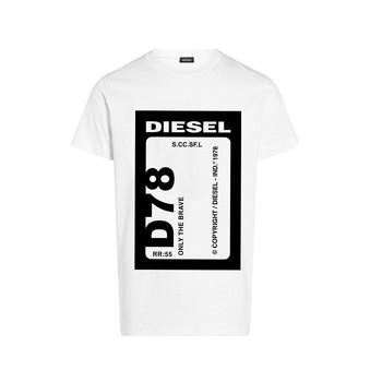 Textiel Jongens T-shirts korte mouwen Diesel TFULL78 Wit