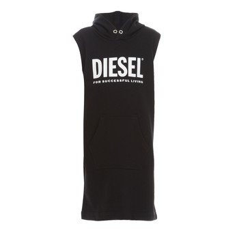 Textiel Meisjes Korte jurken Diesel DILSET Zwart