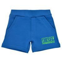 Textiel Jongens Korte broeken / Bermuda's Diesel POSTYB Blauw