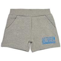 Textiel Jongens Korte broeken / Bermuda's Diesel POSTYB Grijs