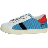 Schoenen Kinderen Lage sneakers Date J301 White/Light Blue