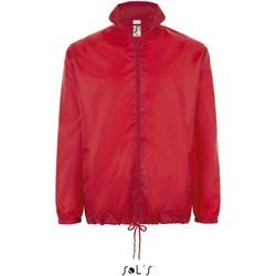 Textiel Windjacken Sol's Coupe-vent  Shift rouge