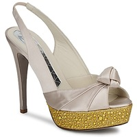 Schoenen Dames Sandalen / Open schoenen Magrit IMPERIALI Wit / Goud