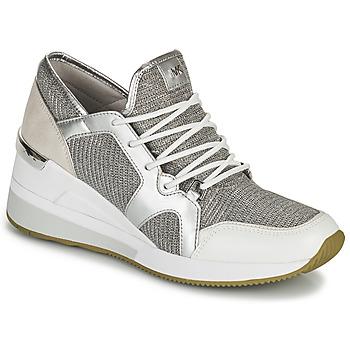 Schoenen Dames Lage sneakers MICHAEL Michael Kors LIV TRAINER Zilver