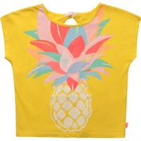 Textiel Meisjes T-shirts korte mouwen Billieblush / Billybandit U15873-548 Geel
