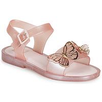 Schoenen Meisjes Sandalen / Open schoenen Melissa MEL MAR SANDAL FLY Roze / Goud