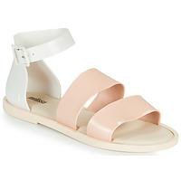 Schoenen Dames Sandalen / Open schoenen Melissa MELISSA MODEL SANDAL Wit / Roze