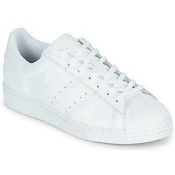 Schoenen Lage sneakers adidas Originals SUPERSTAR Wit
