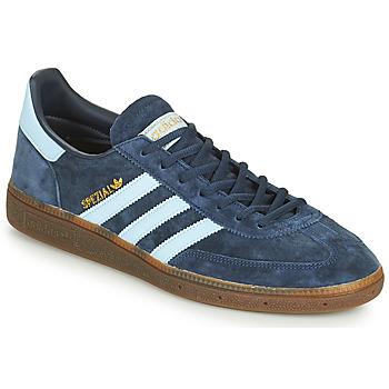 Schoenen Lage sneakers adidas Originals HANDBALL SPEZIAL Blauw / Wit