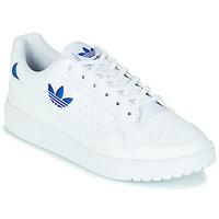 Schoenen Lage sneakers adidas Originals NY 92 Wit / Blauw