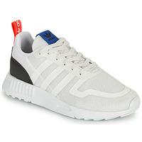 Schoenen Kinderen Lage sneakers adidas Originals SMOOTH RUNNER C Wit / Zwart
