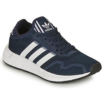 Schoenen Kinderen Lage sneakers adidas Originals SWIFT RUN X C Marine