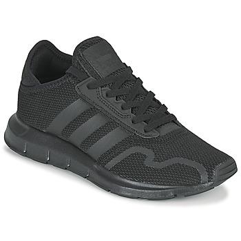 Schoenen Kinderen Lage sneakers adidas Originals SWIFT RUN X J Zwart
